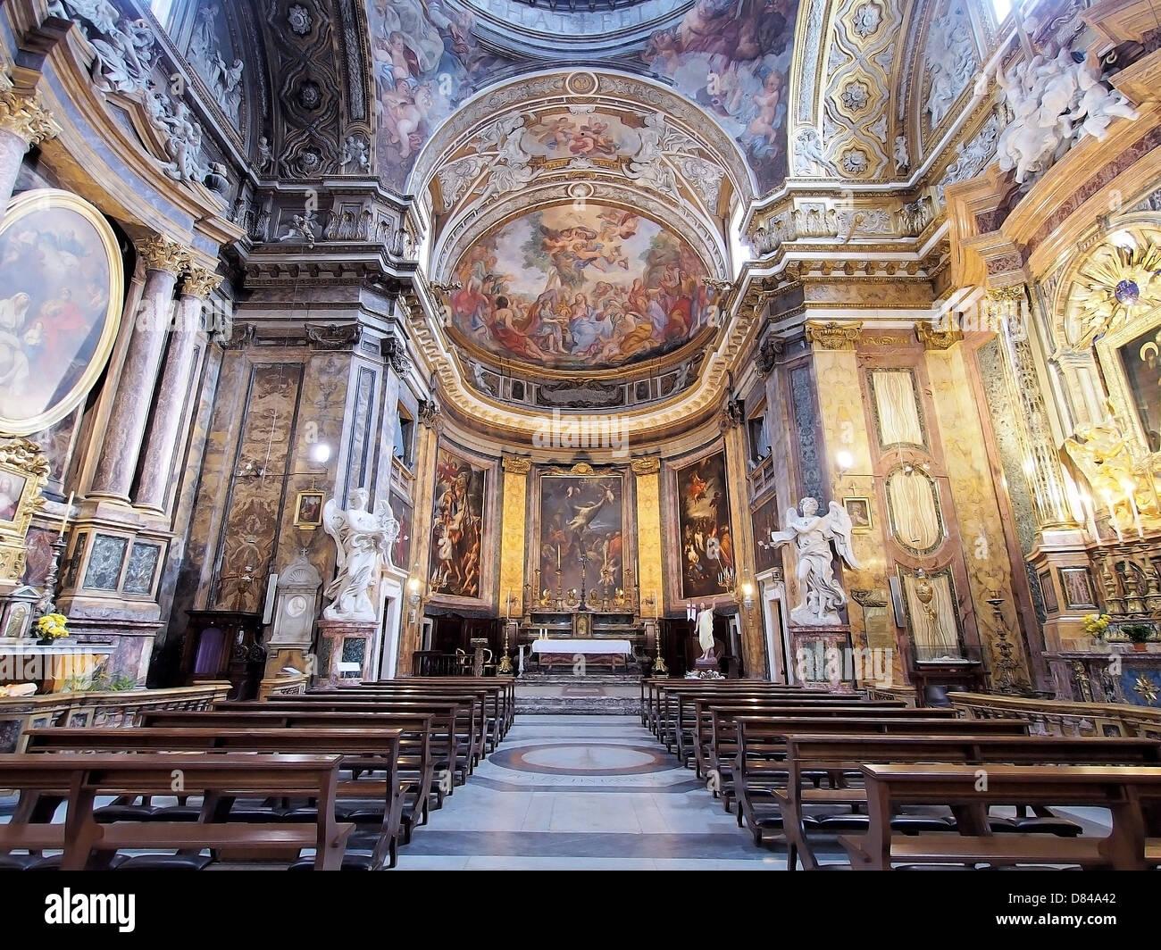 Roma Basilica Sant Andrea Delle Fratte Italy By Andrea Quercioli Stock Photo Alamy