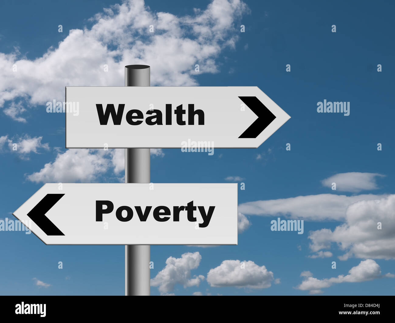 The road to riches...maybe! - Stock Image