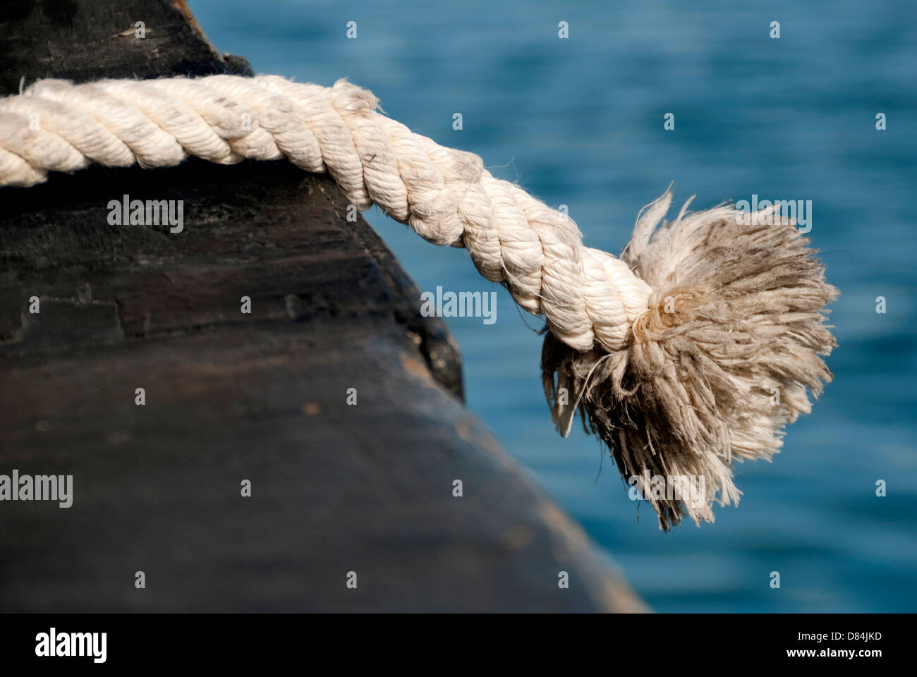 Cabo – Thick rope Stock Photo
