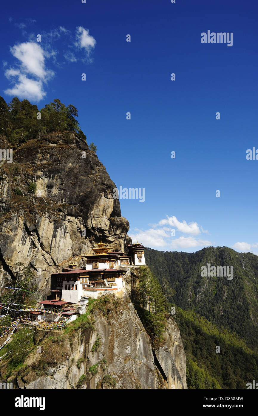 Bhutan - Dragon Land- Taktshang - Tiger Nest - Stock Image