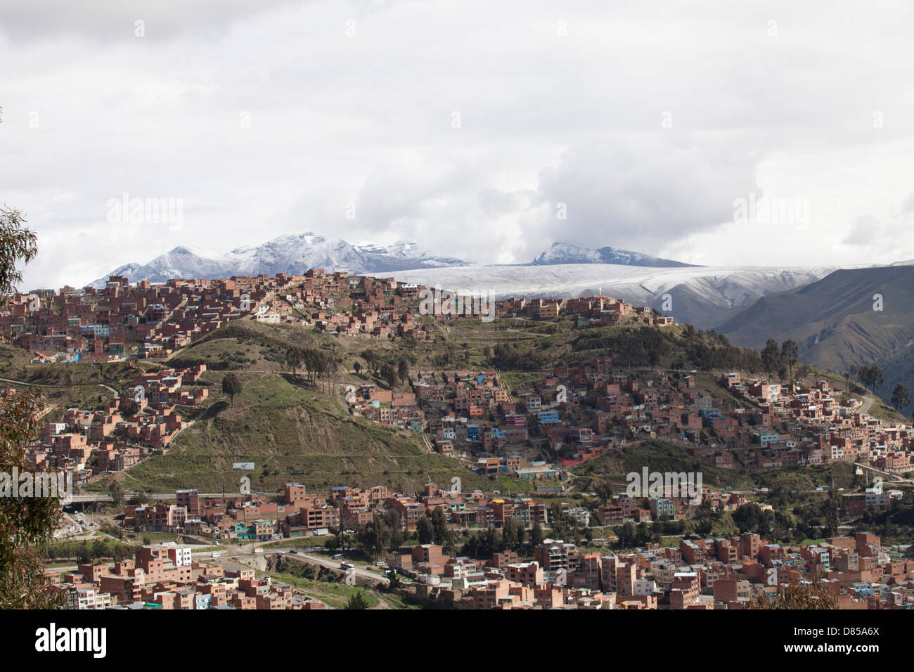 El Alto, La Paz capital city in Bolivia - Stock Image