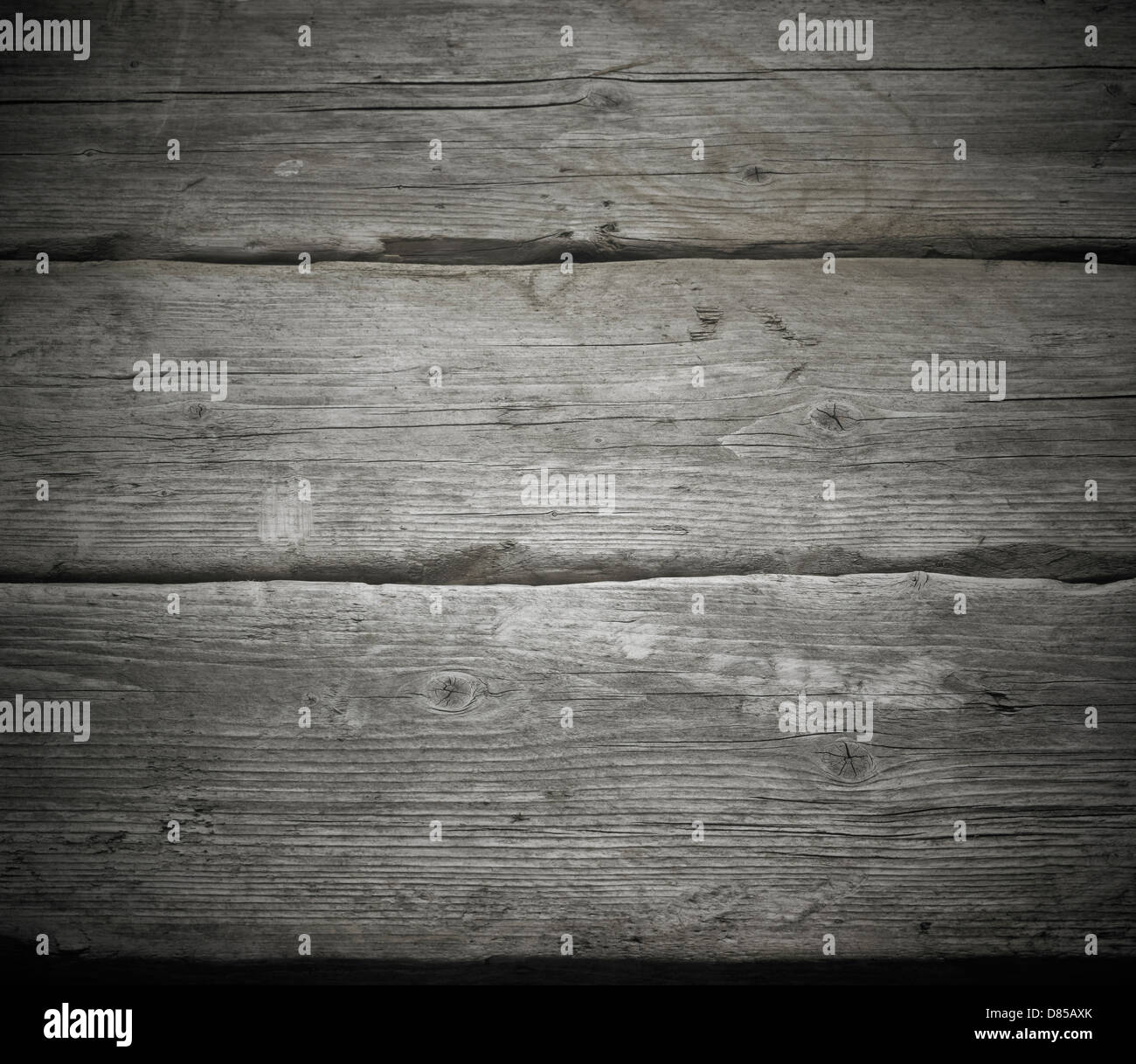 Wood grain plank backgrounds. Old , gray, worn, weathered, grained,BBQ, - Stock Image