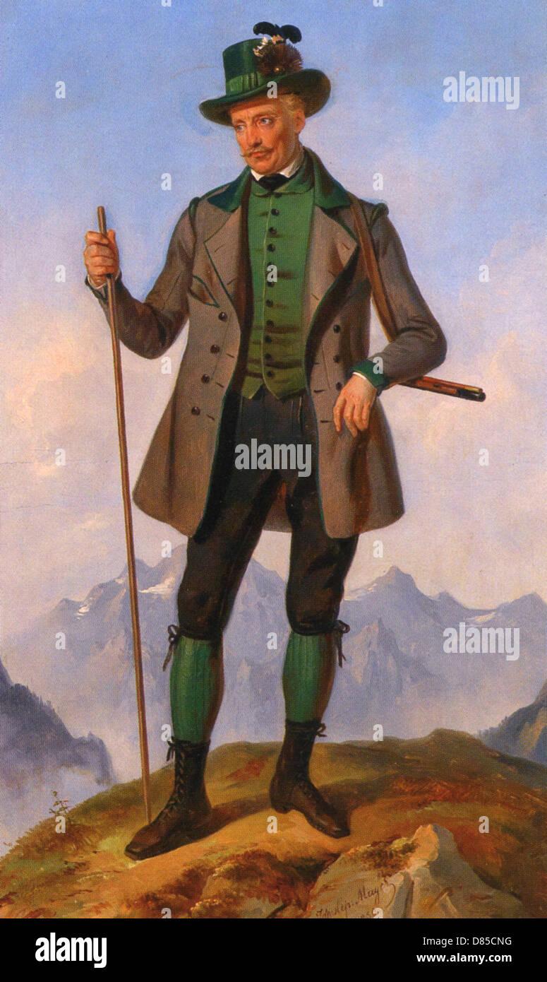 ARCHDUKE JOHN OF AUSTRIA (1782-1859) member of the Habsburg dynasty - Stock Image