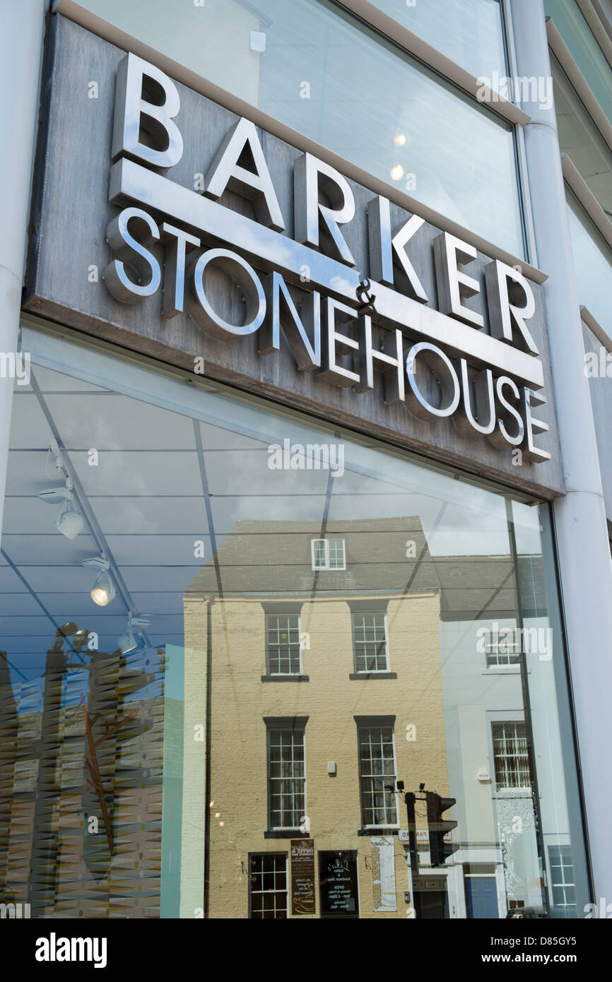 stonehouse furniture. Barker \u0026 Stonehouse Furniture Store With A Reflection Of House In The Window. H