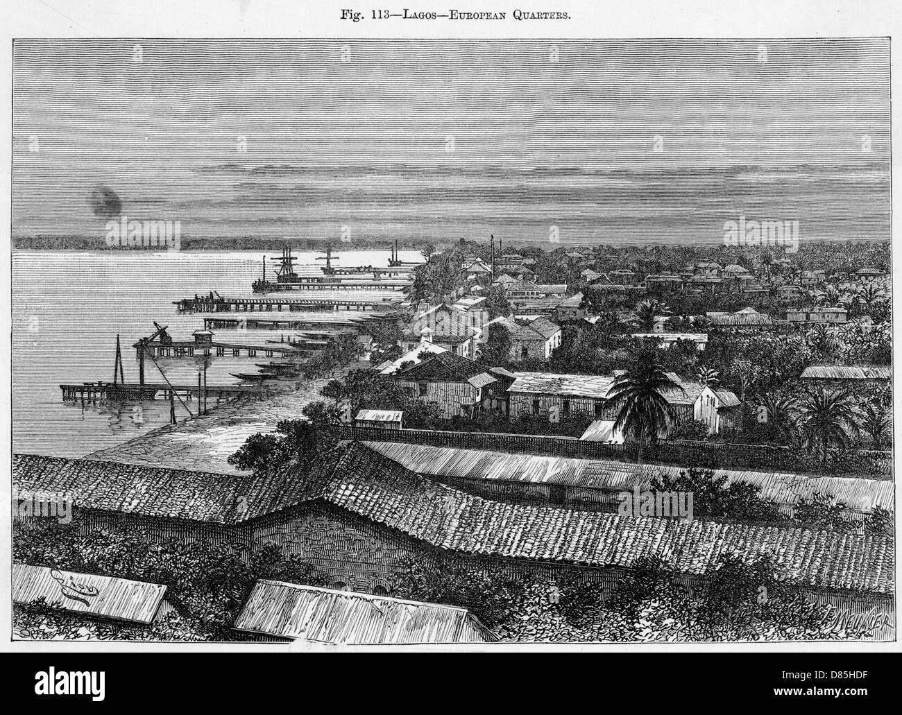 Nigeria Lagos - Stock Image