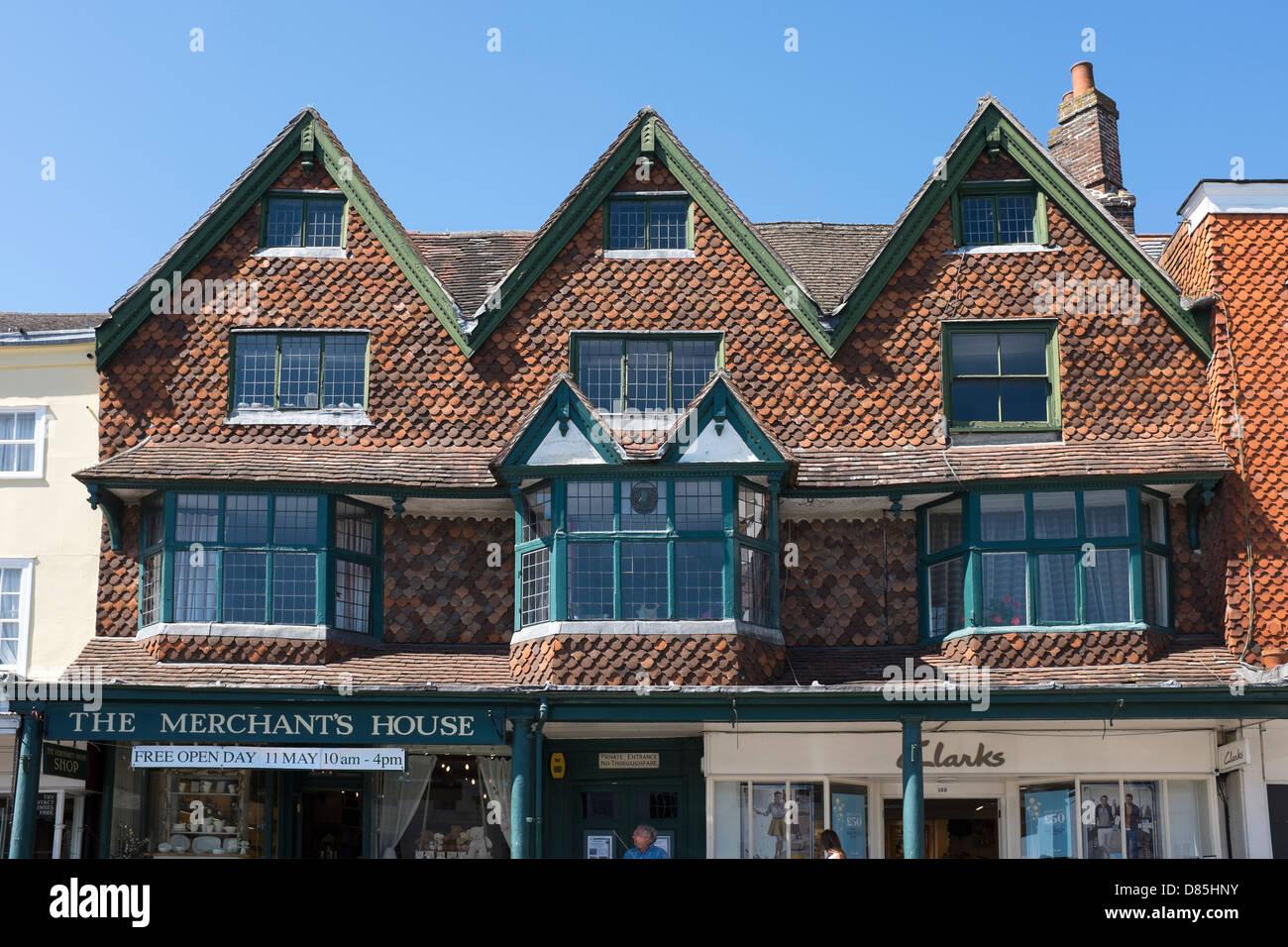 The Merchants House Marlborough - Stock Image
