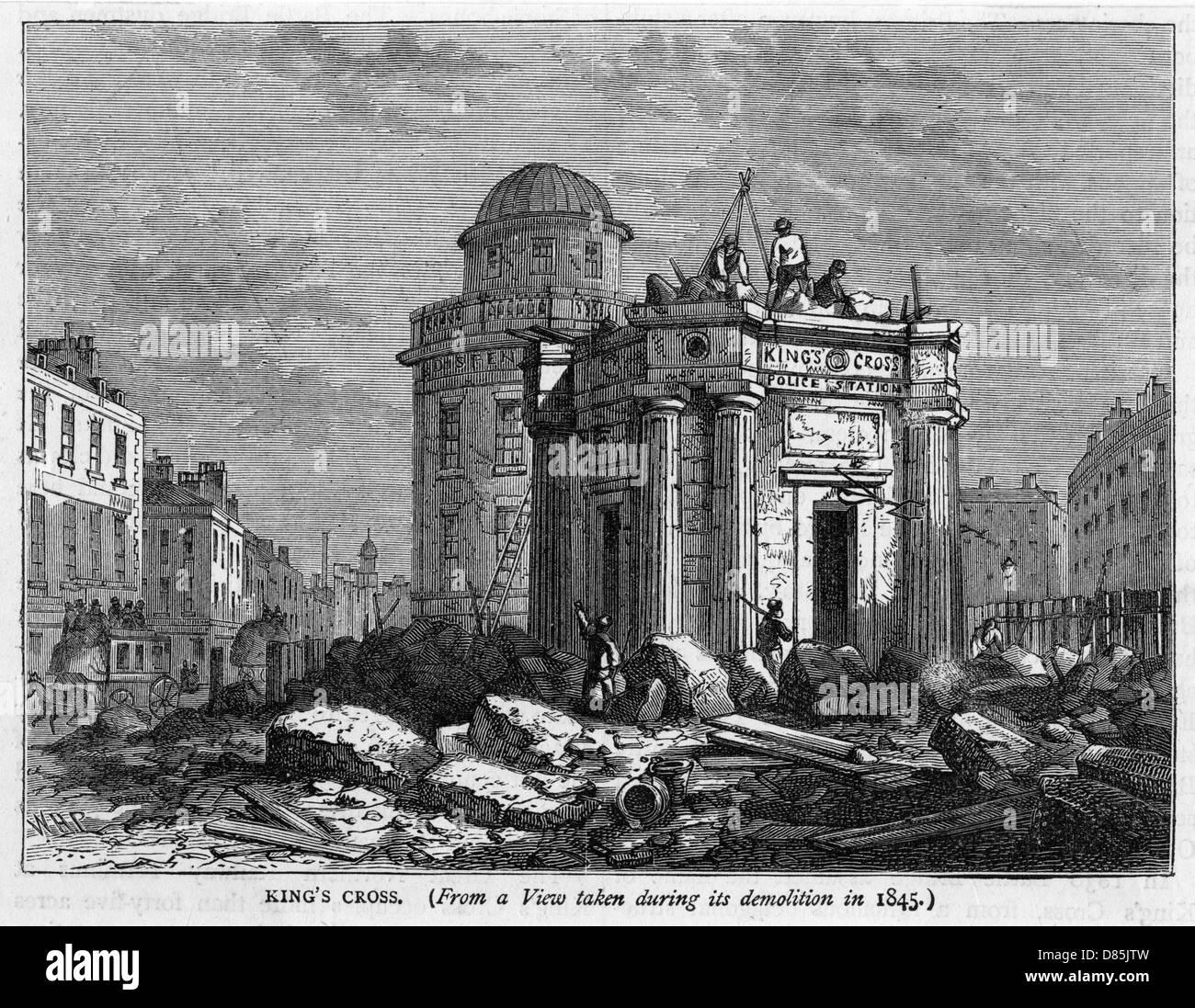 Kings Cross Demolished - Stock Image
