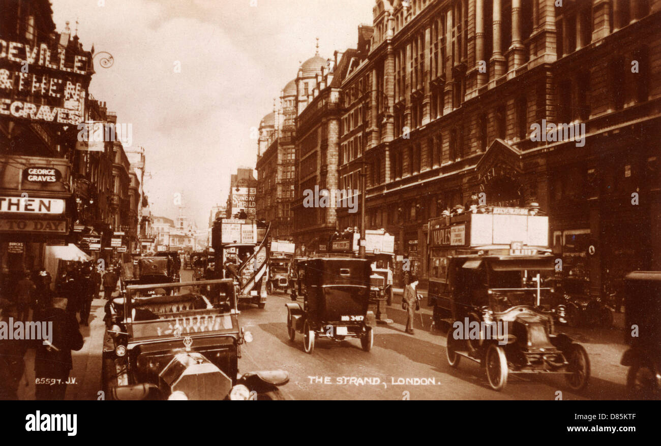 Strand 1908 - Stock Image