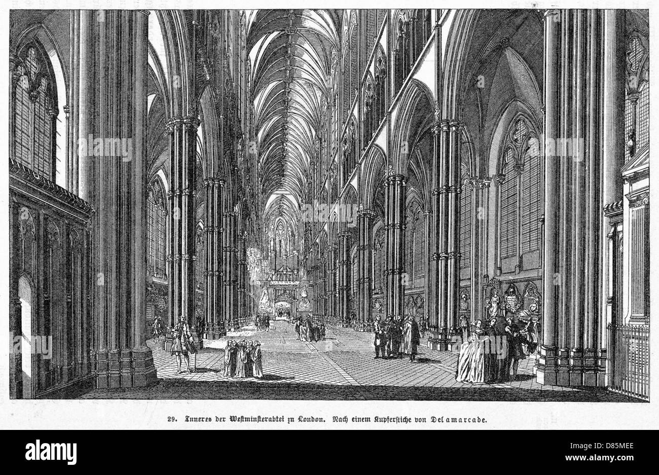 Westminster Hall C18 - Stock Image