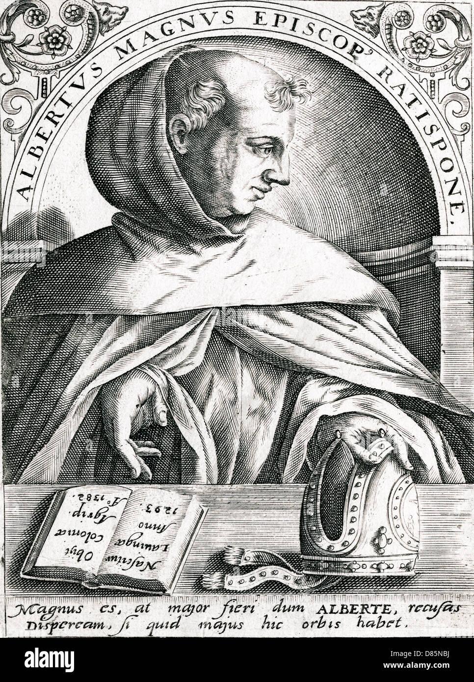 Albertus Magnus - Stock Image