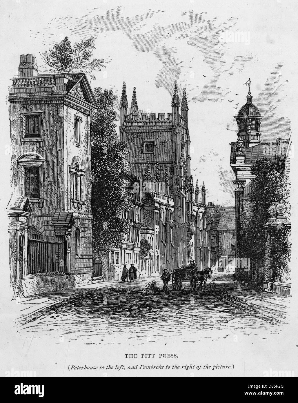 Cambridge Press - Stock Image