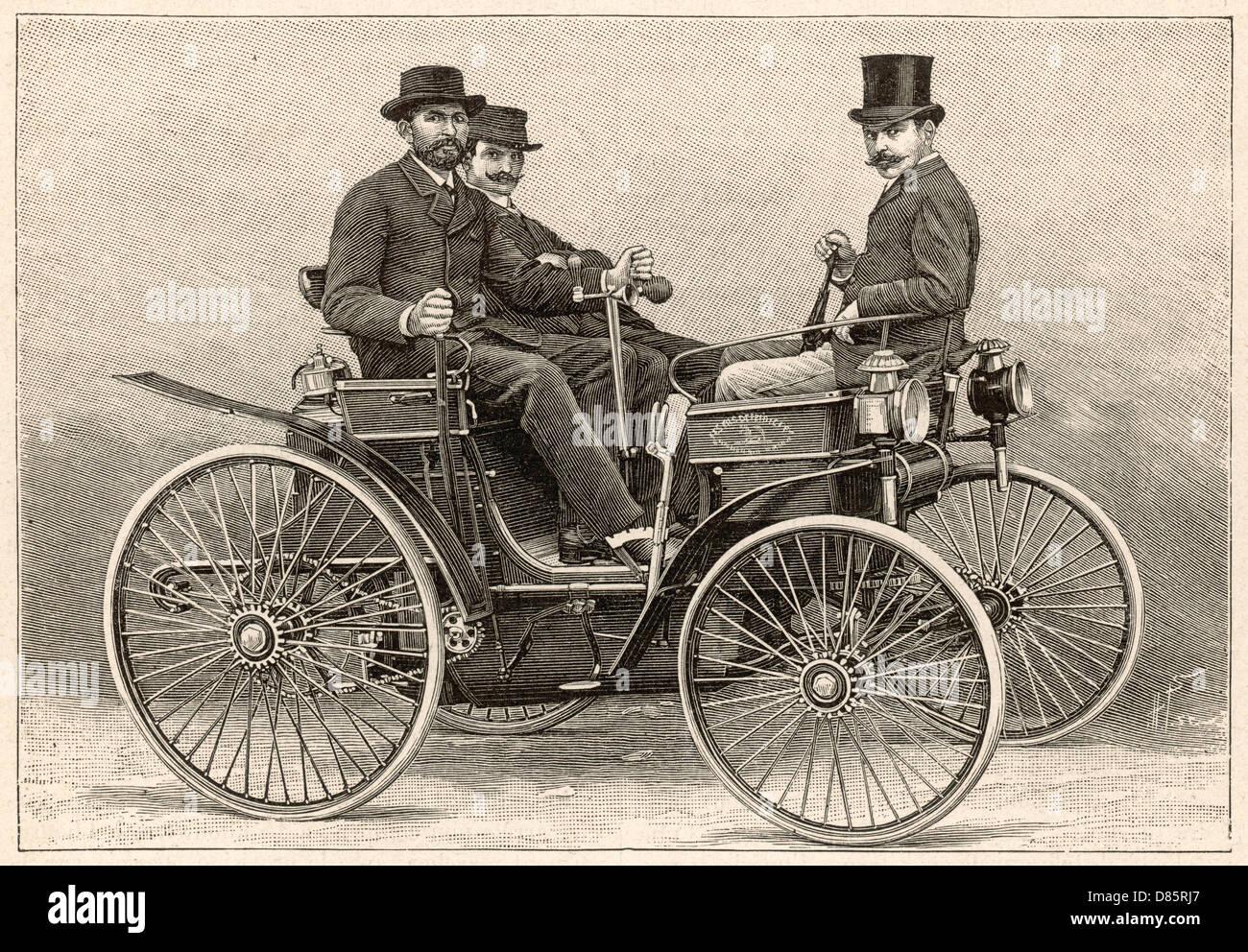 Peugeot 1891 Motor Car