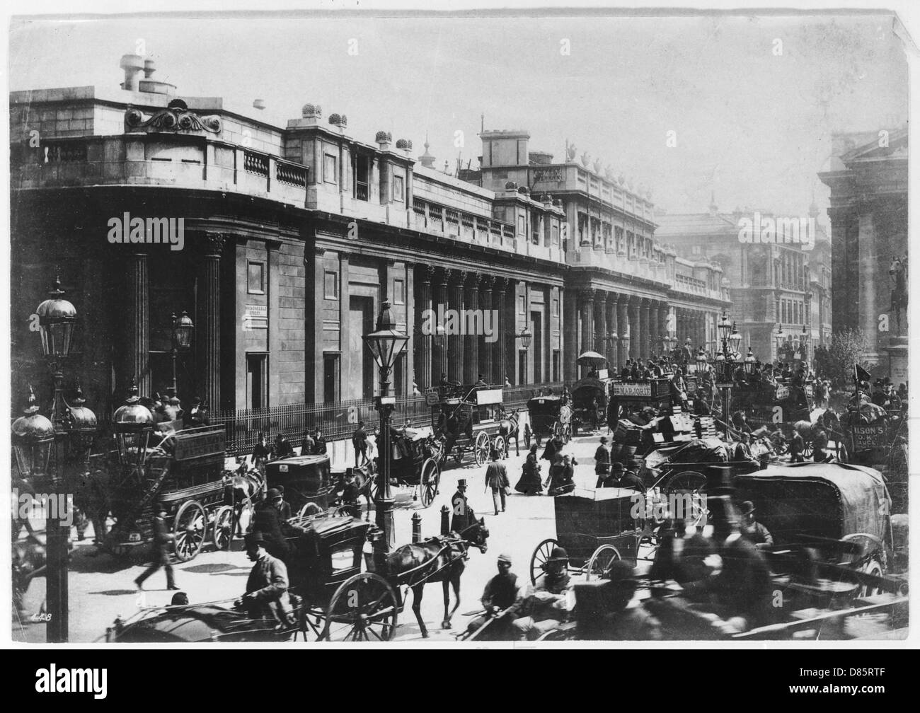 The Bank Of England London 1888