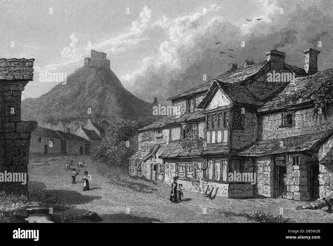 Launceston  Cornwall - Stock Image