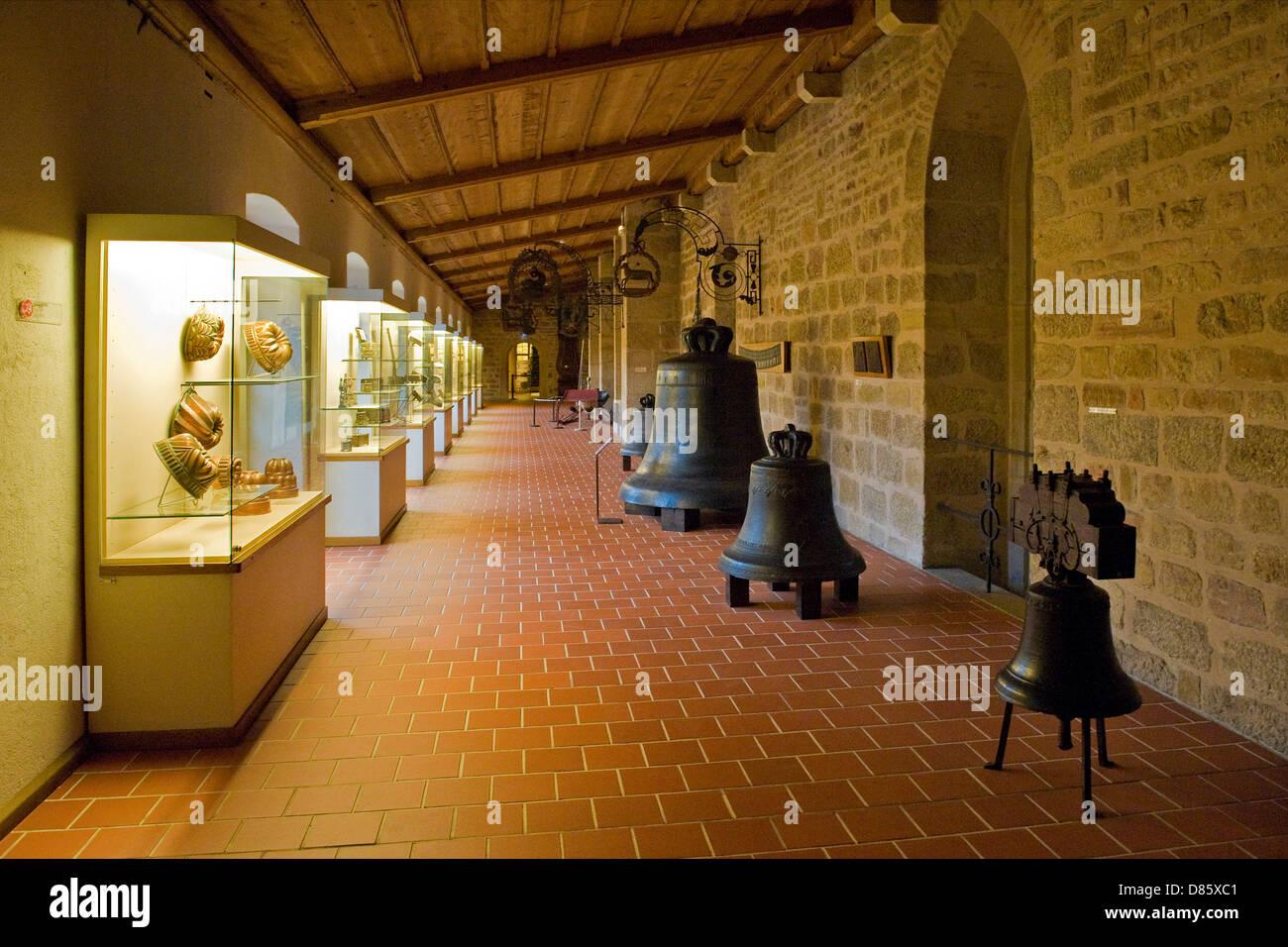 France, Alsace, Colmar, Unterlinden museum Stock Photo