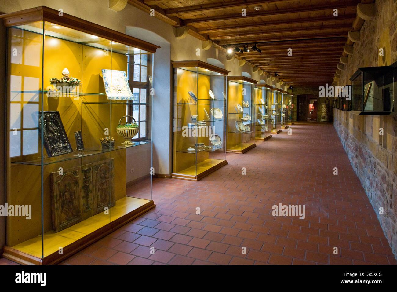 France, Alsace, Colmar, Unterlinden museum - Stock Image