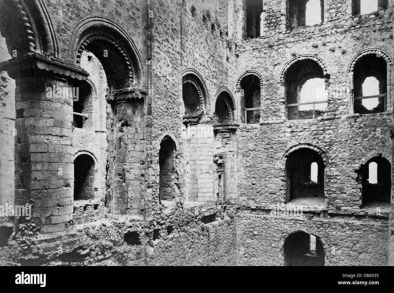 Rochester Castle  Kent - Stock Image