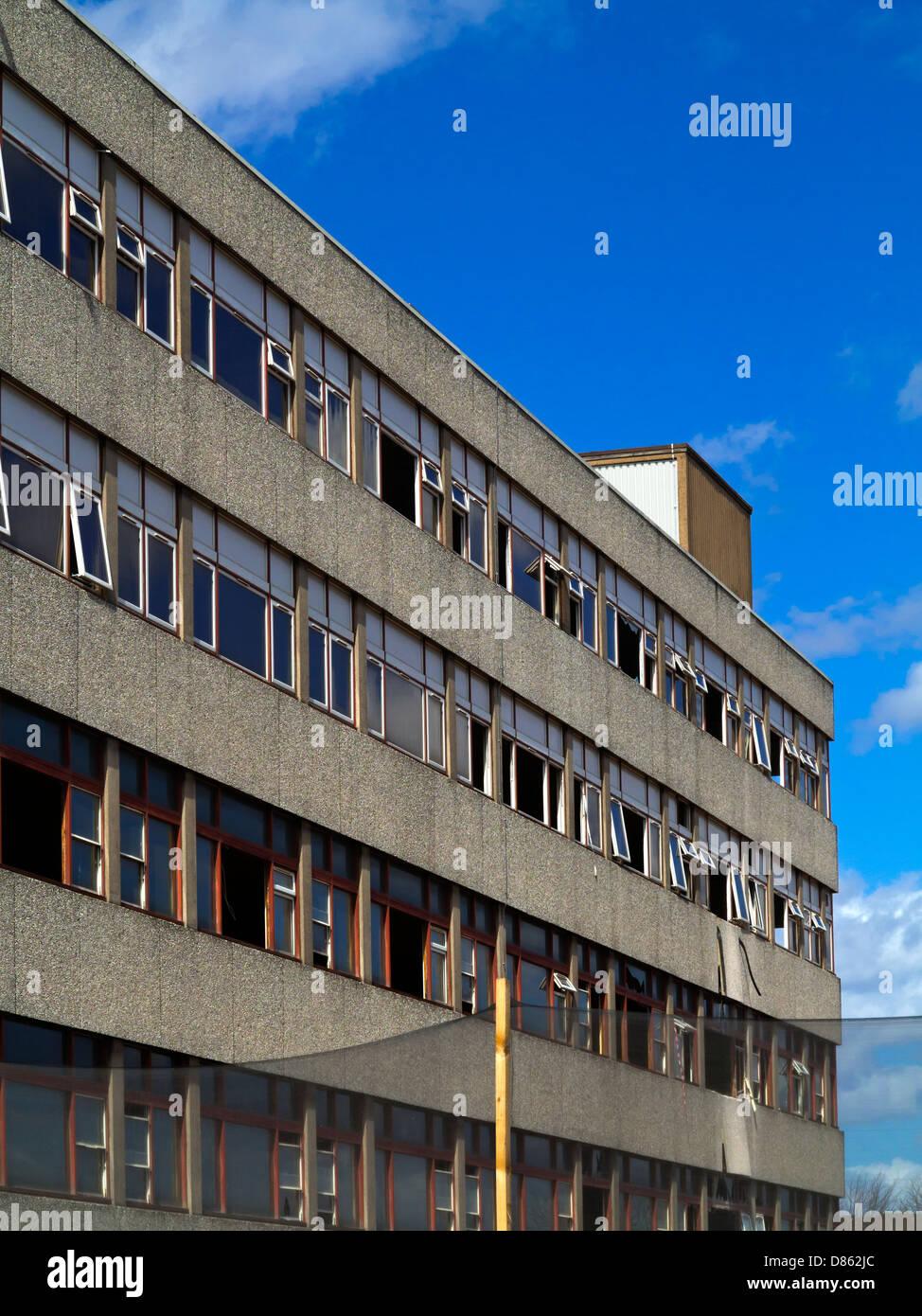 Old Concrete Buildings : Demolition old concrete buildings in stock photos