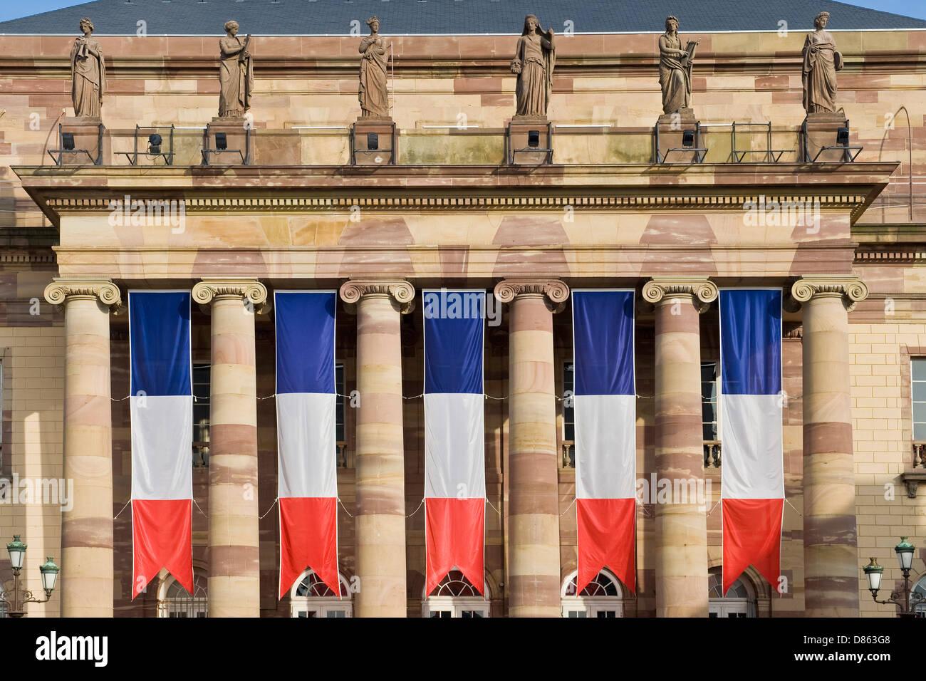 France Alsace Strasbourg Alsatian theater - Stock Image