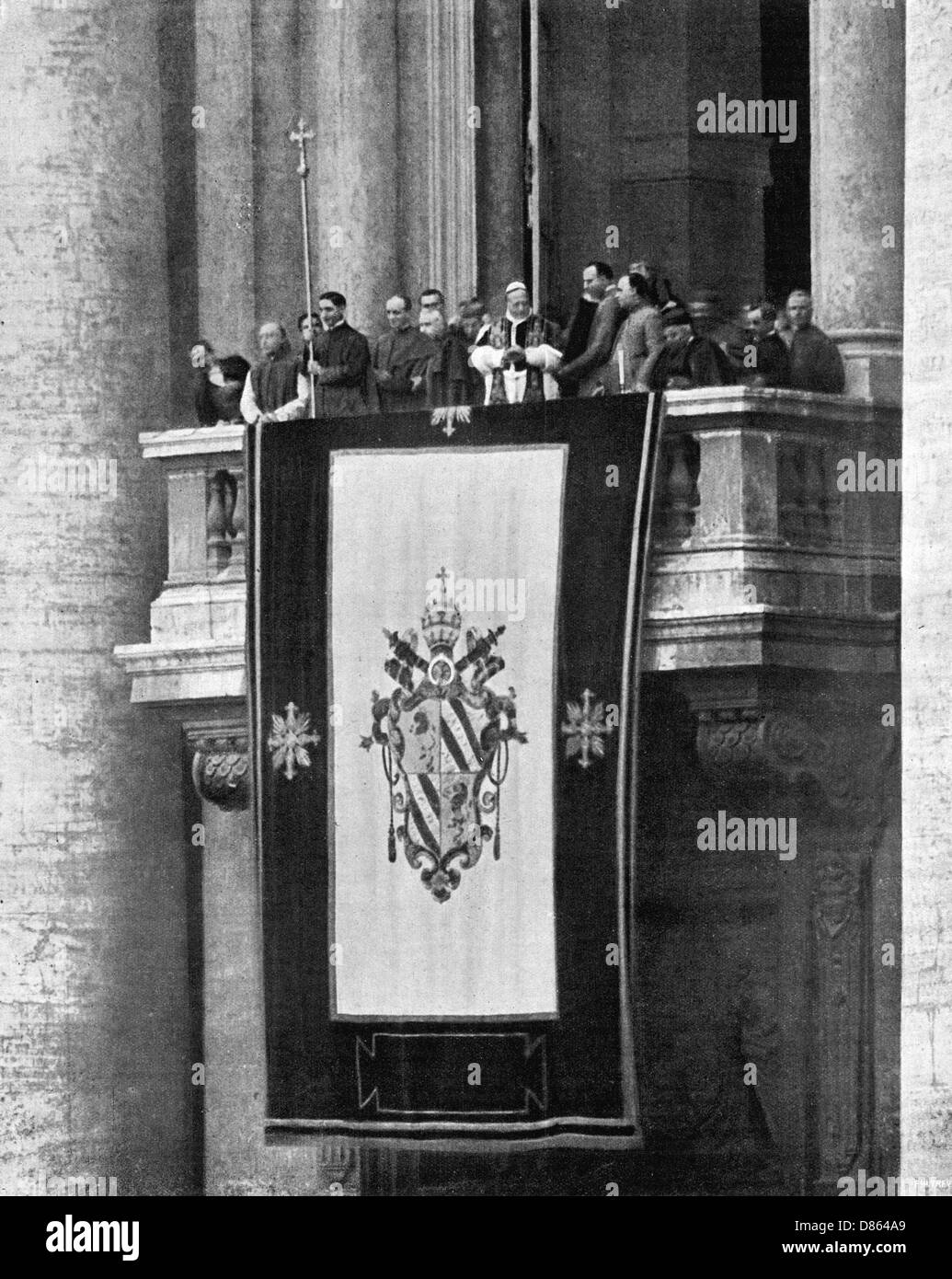A Papal Address By Pope Pius Xi - Stock Image