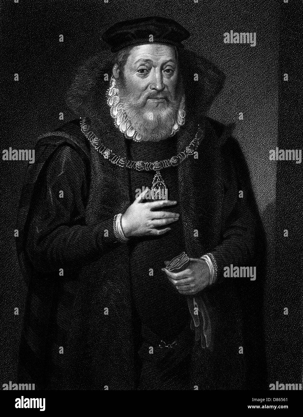 James Hamilton  2nd Earl Of Arran - Stock Image