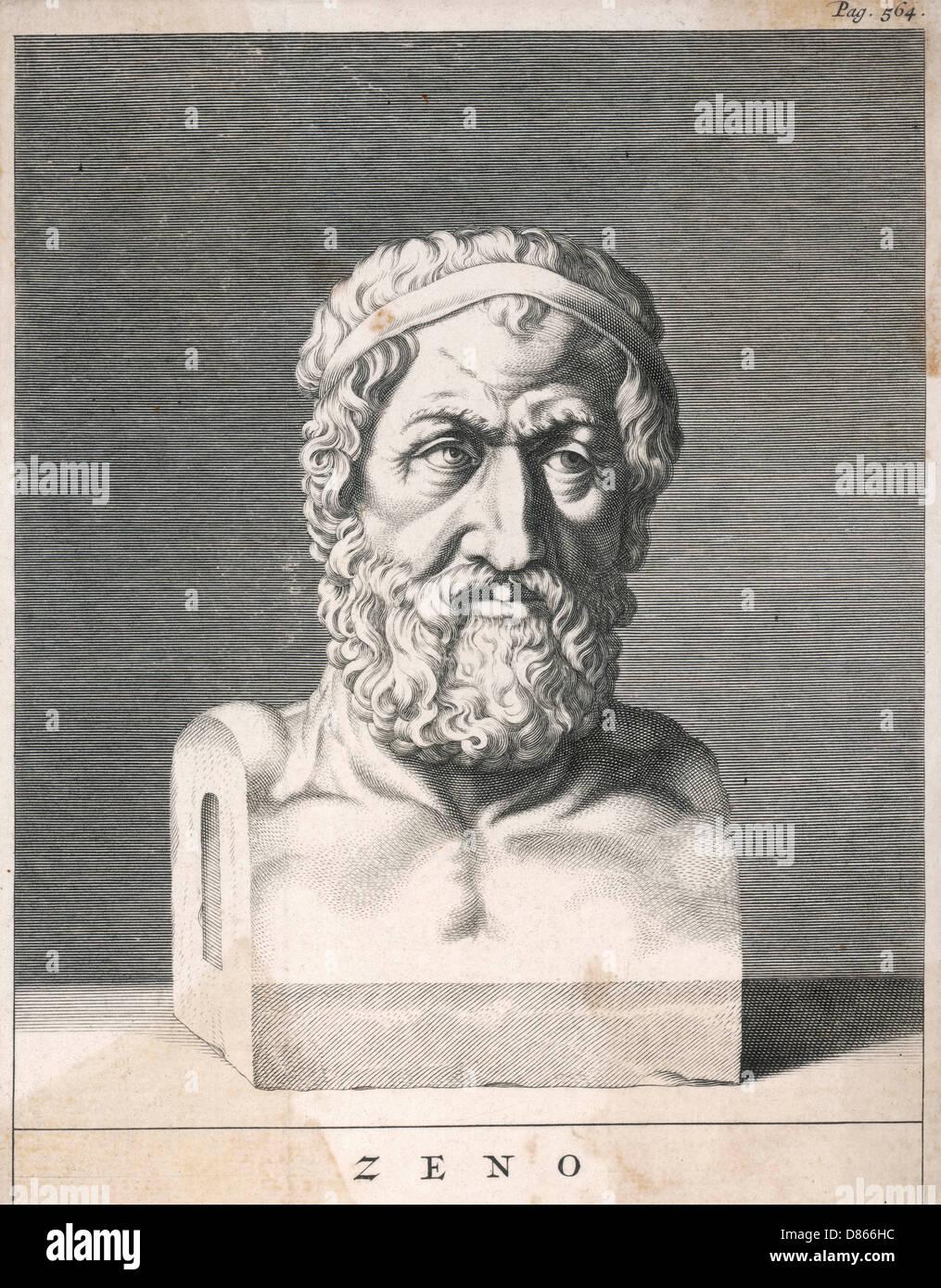 Zeno Of Citium  Greek Philosopher - Stock Image