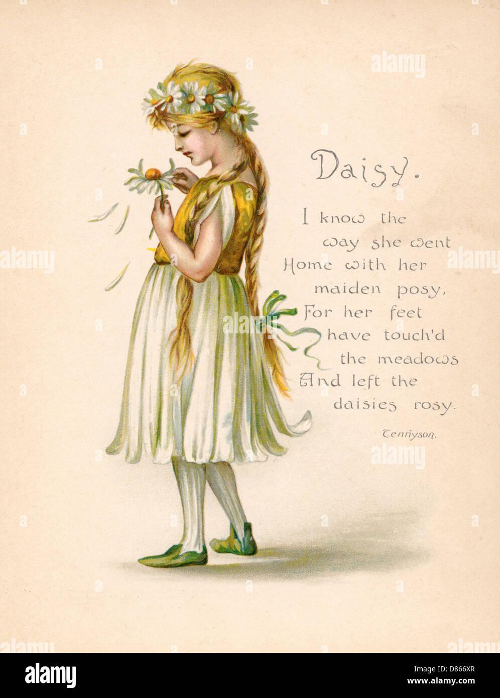 Victorian Language Of Flowers Stock Photos Victorian Language Of