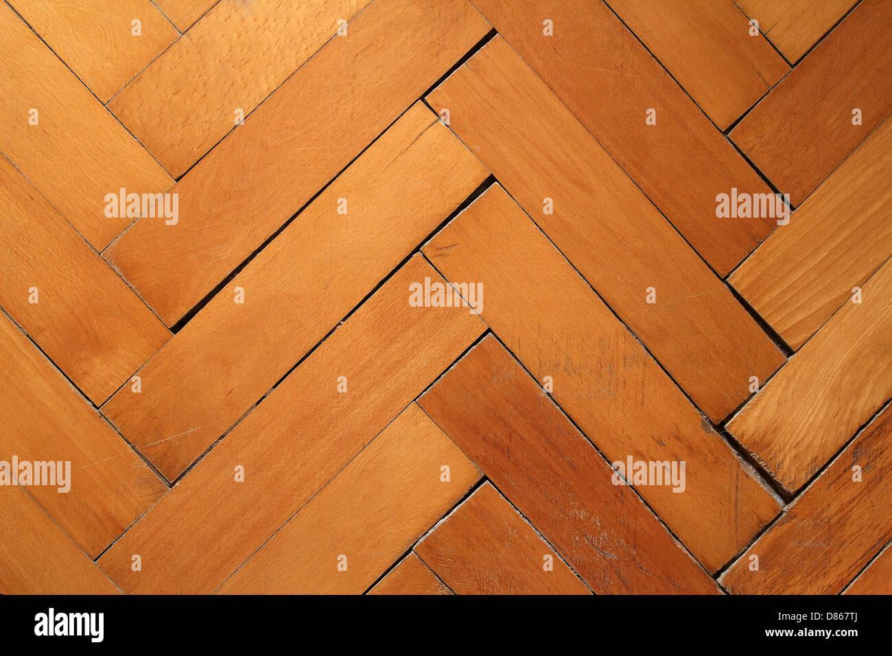 parquet floor background - Stock Image