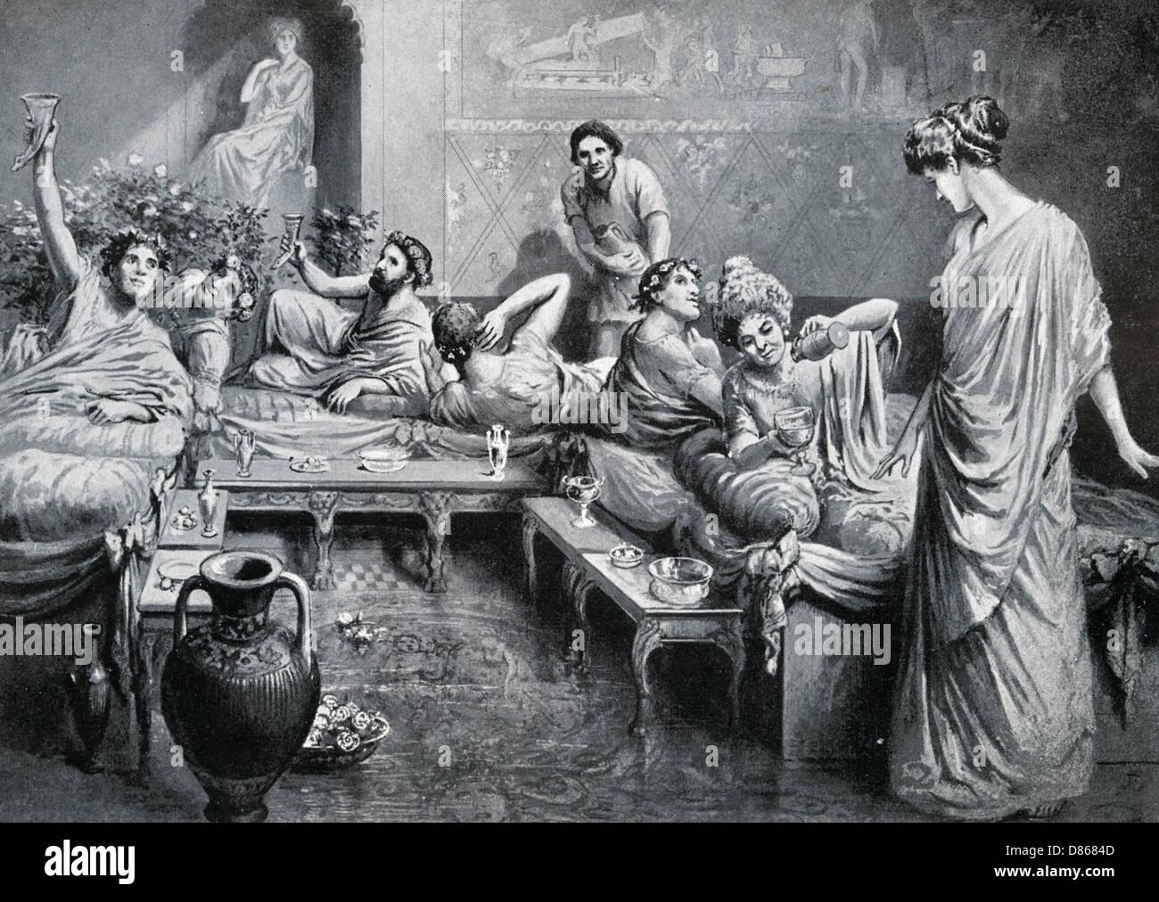 Romans In Britain - Stock Image