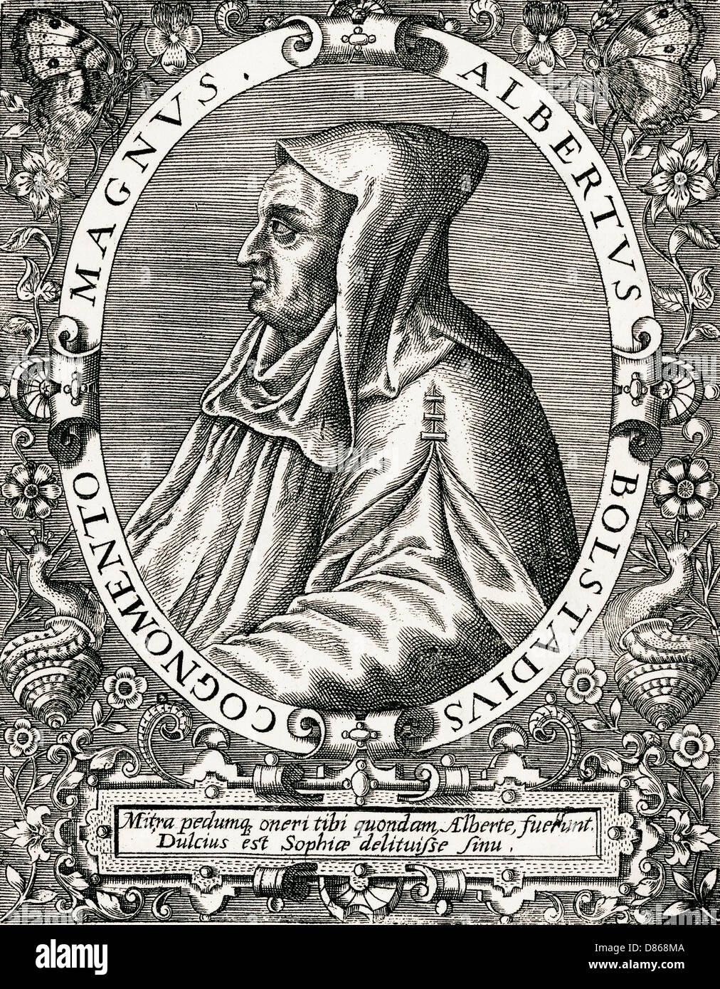 Albertus Magnus 1193 - Stock Image