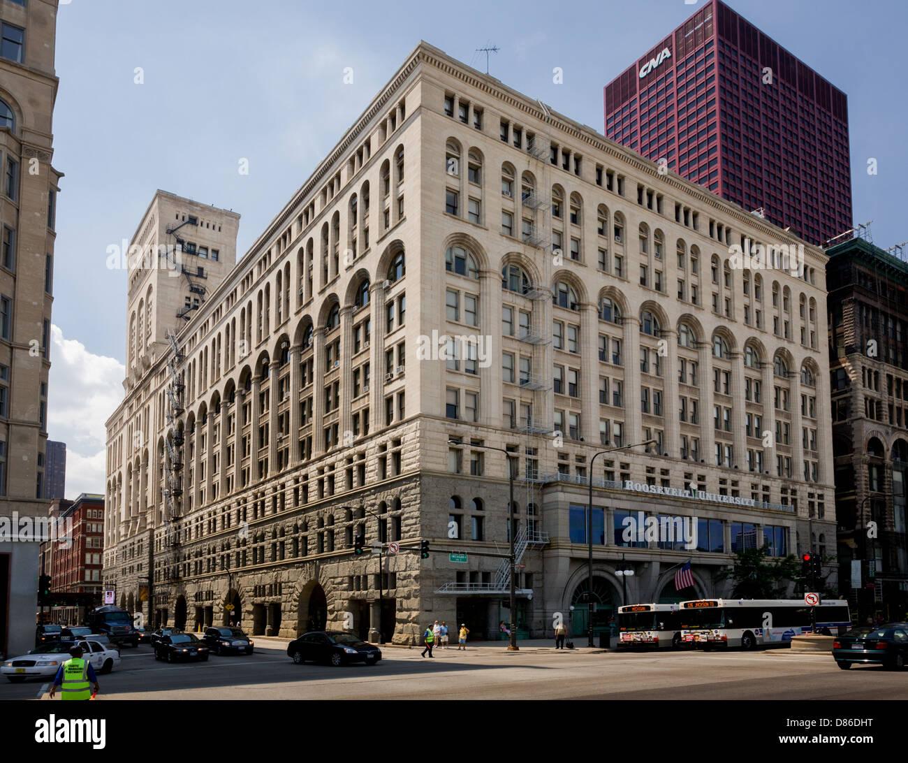 New Building E Illinois Chicago