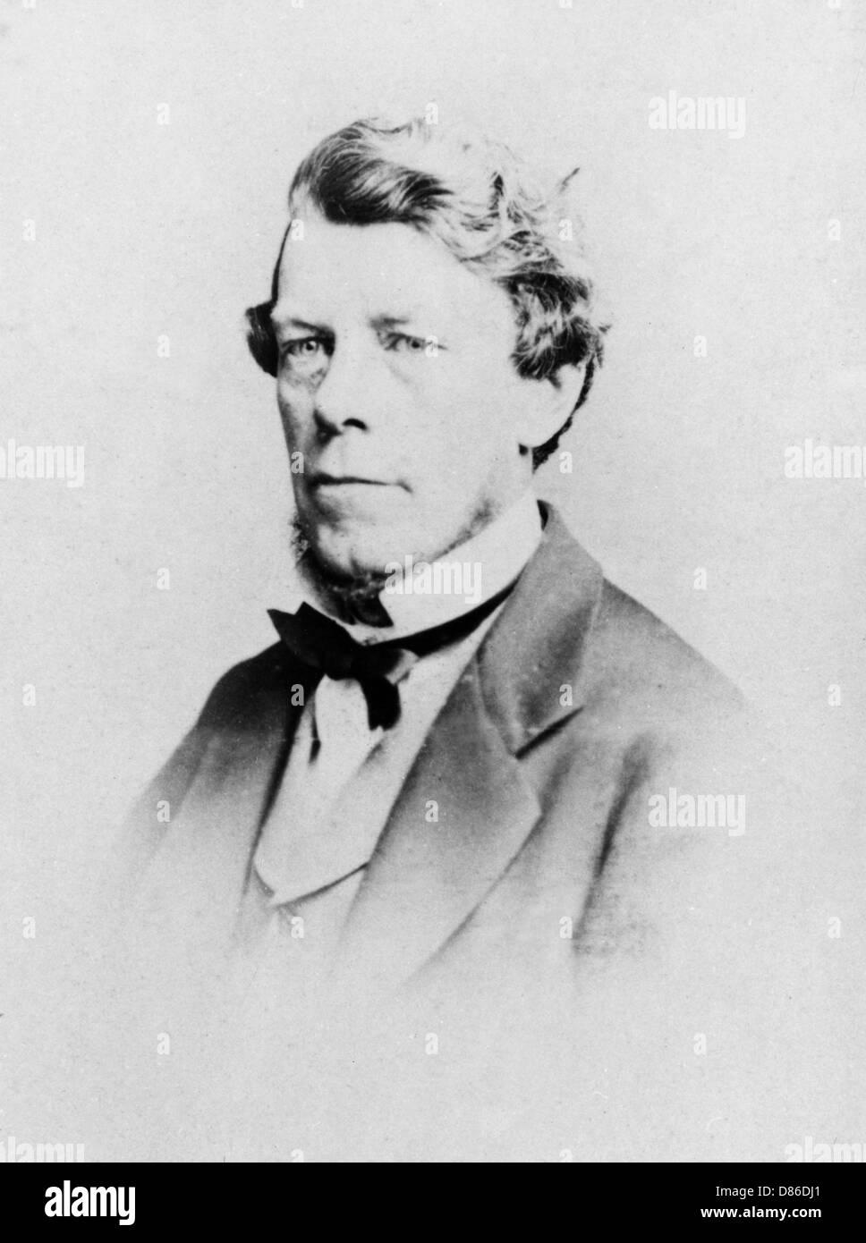 Edward T Bennett  Spiritualist And Author - Stock Image