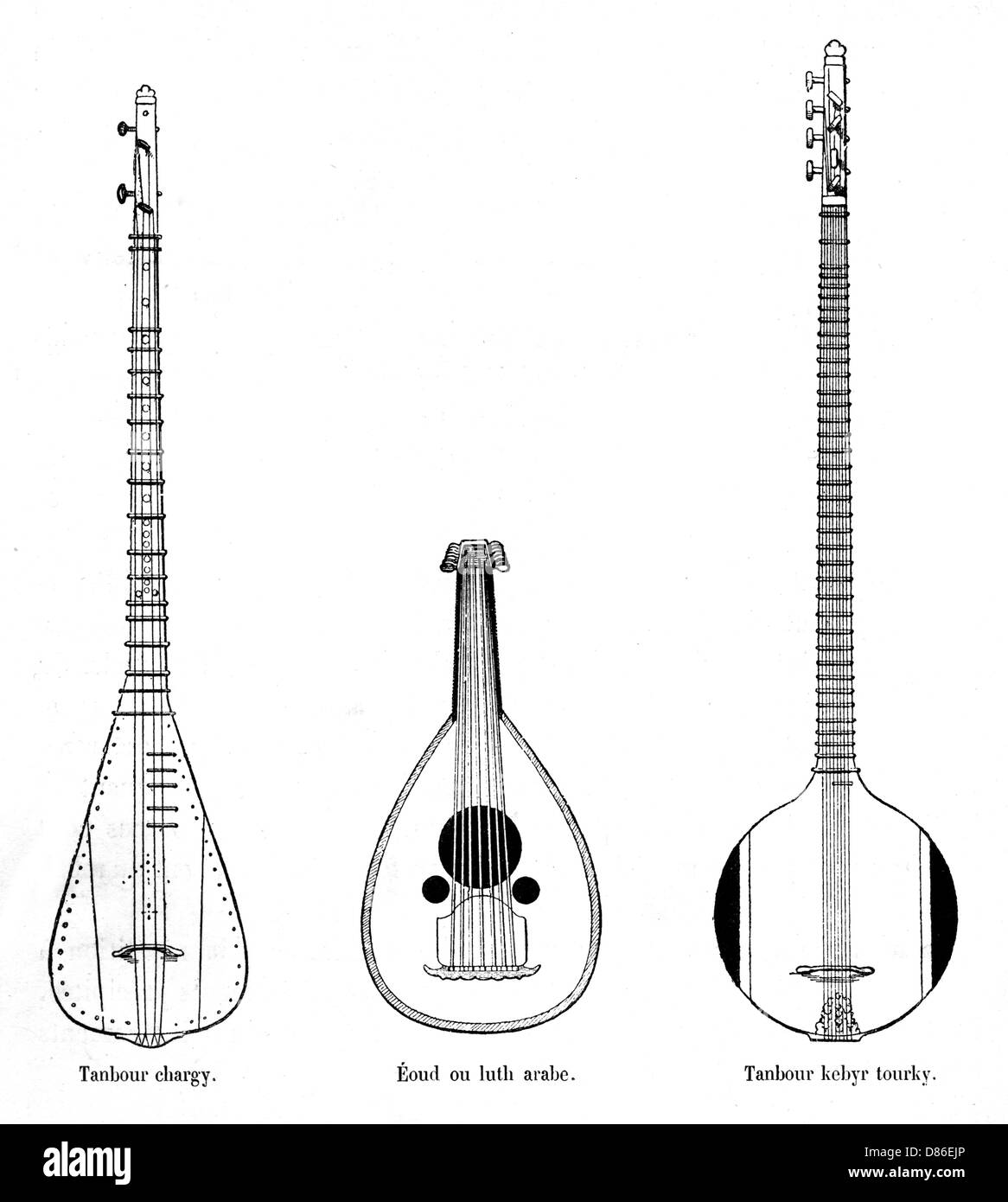 Asian music instruments