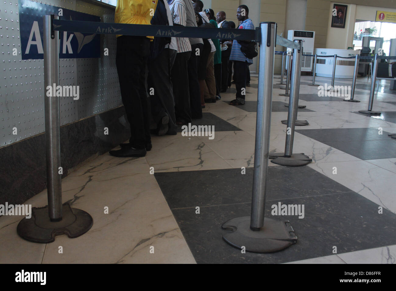 Airport Screening Passengers Security Stock Photos