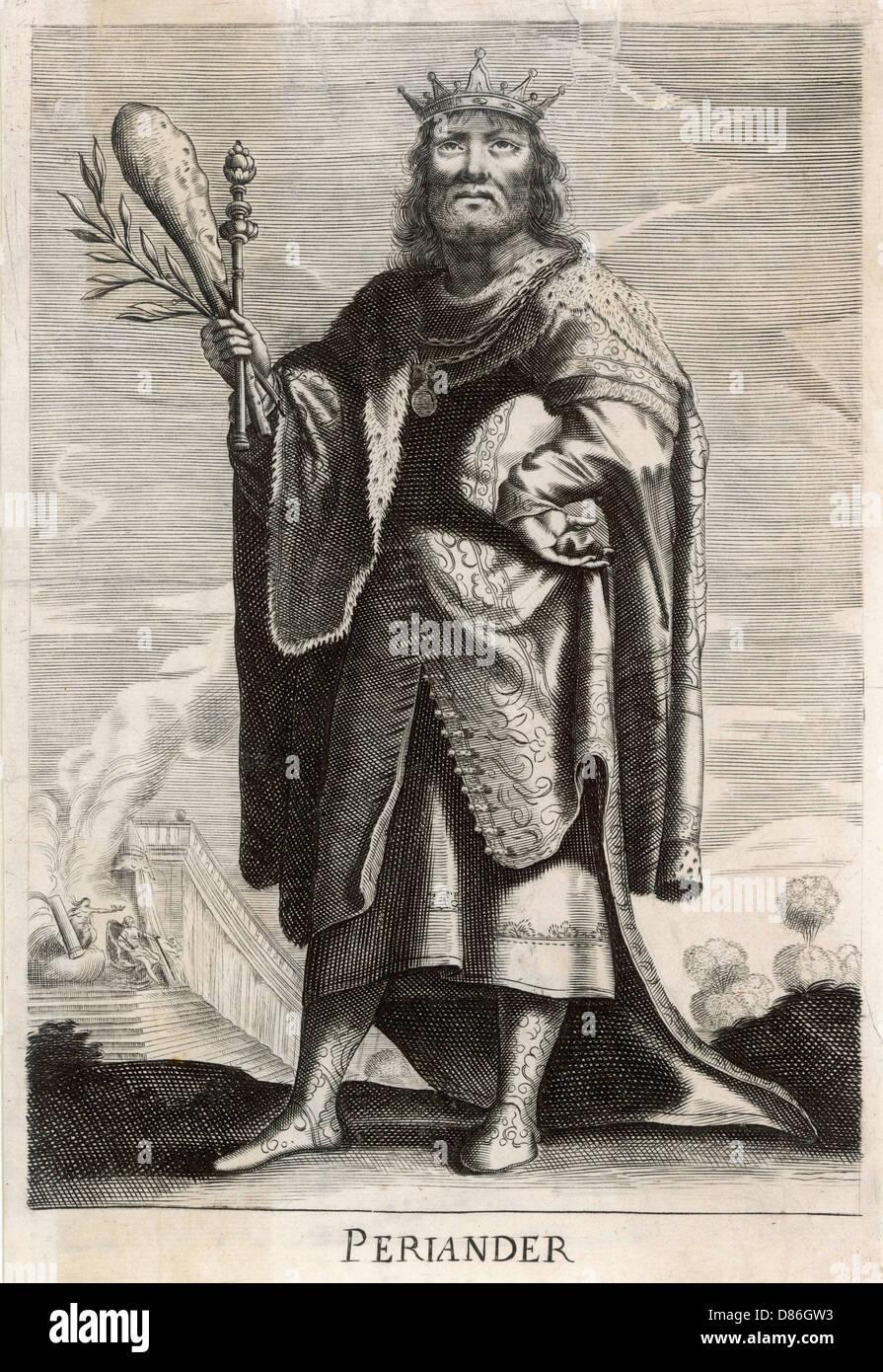 Periander  Greek Royalty - Stock Image