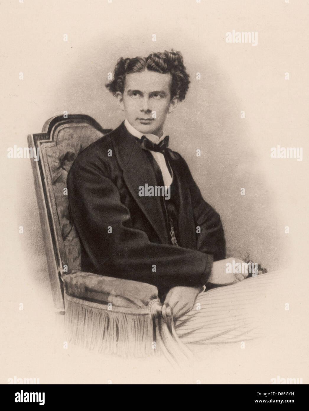 Ludwig Ii Anon Photo - Stock Image