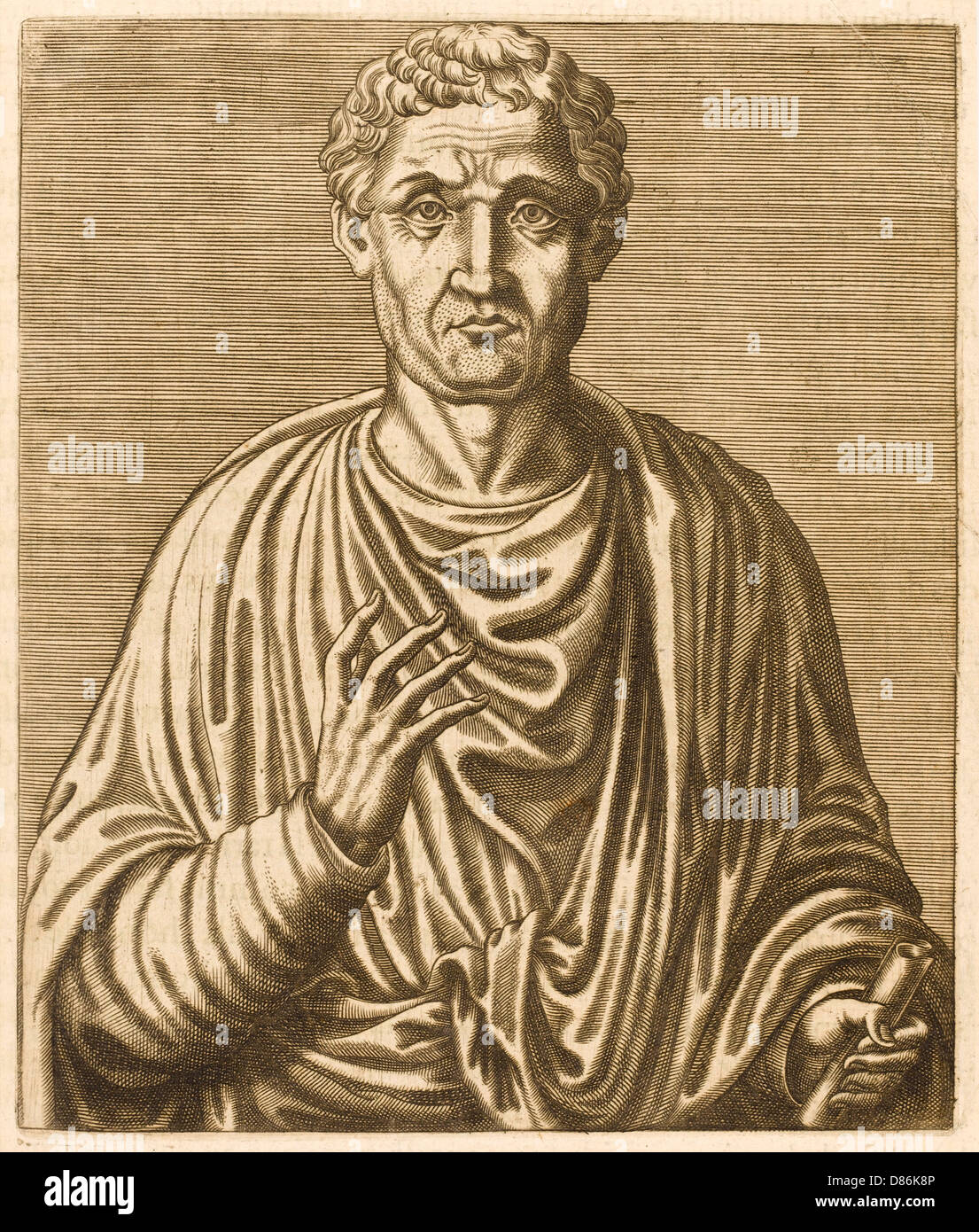 Anicius Boethius - Stock Image