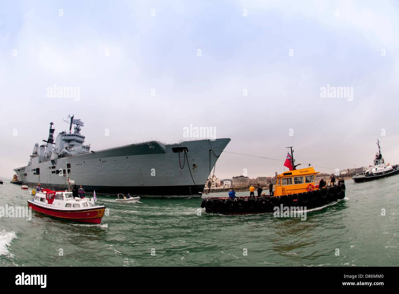 Ark Royal Aircraft Carrier Stock Photos & Ark Royal Aircraft Carrier