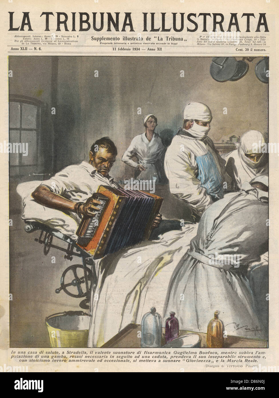 Anaesthesia Accordionist Stock Photo
