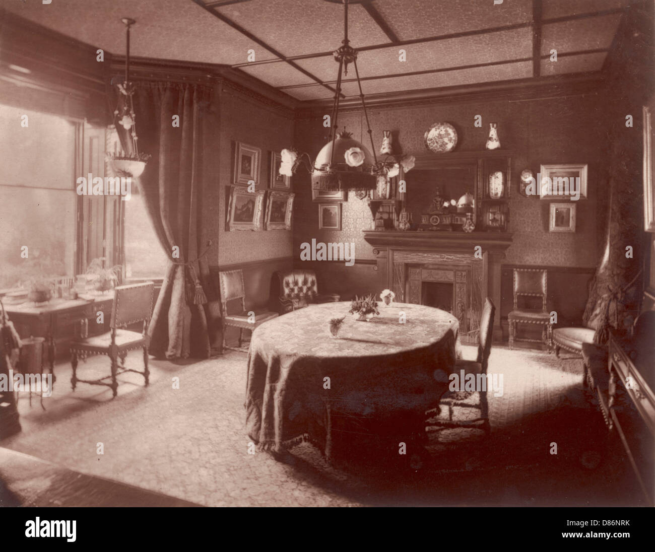 Beau Victorian Dining Room Stock Photos U0026 Victorian Dining Room ...