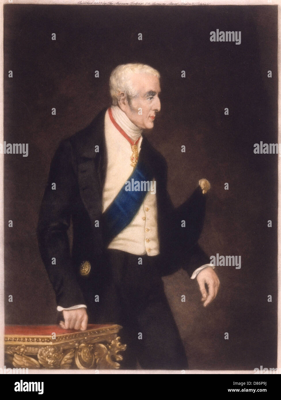 Duke Of Wellington Orsay - Stock Image