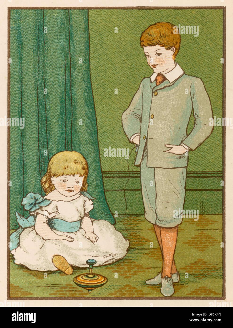 Humming Top 1886 - Stock Image
