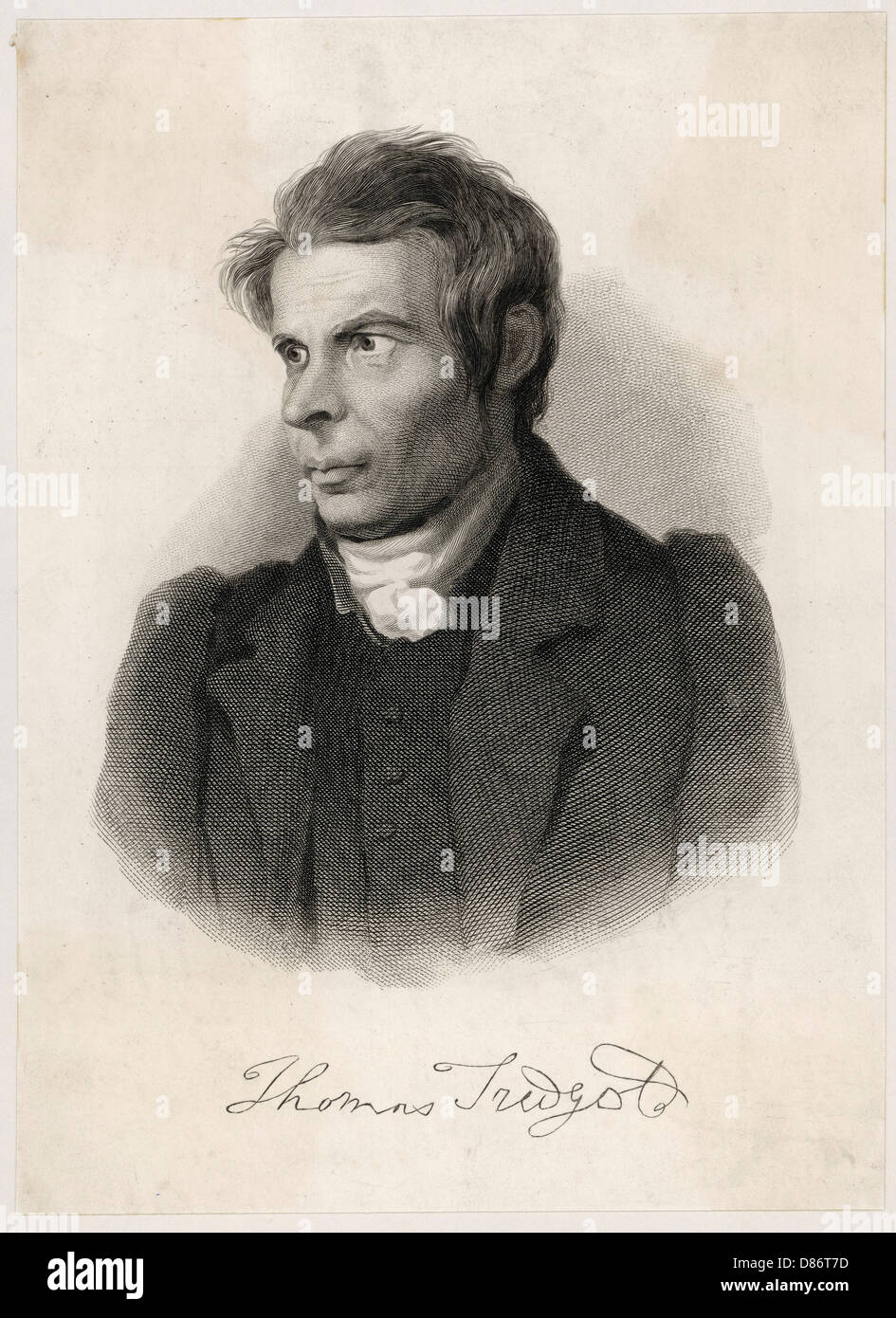 Thomas Tredgold - Stock Image
