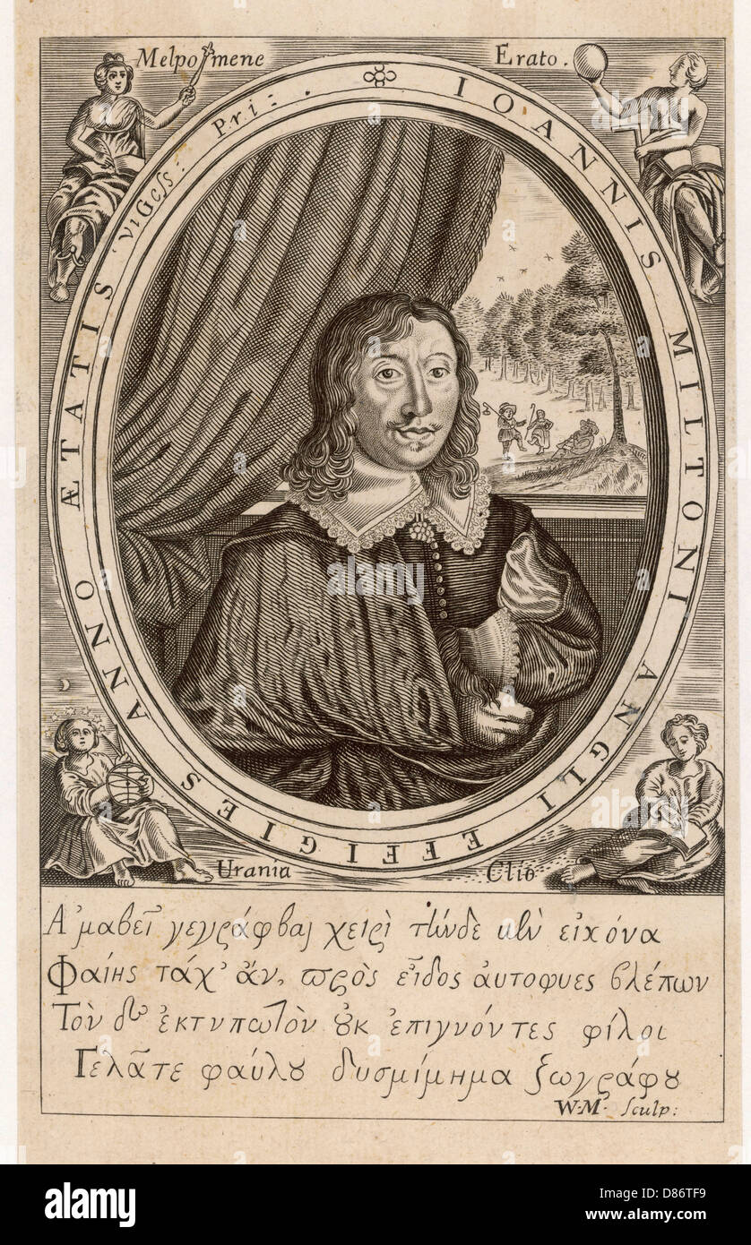 Milton Poems 1645