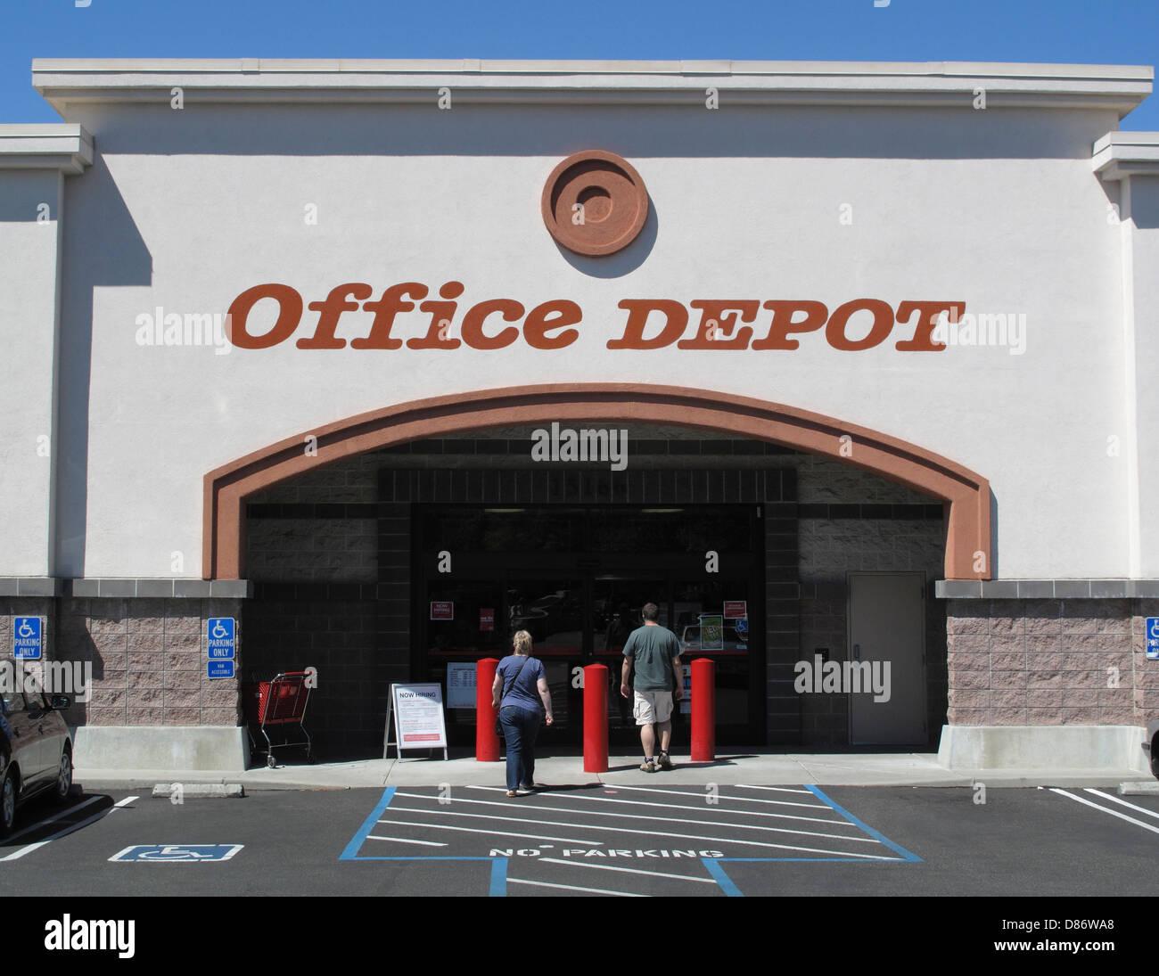 Office Depot Store In Los Gatos, California   Stock Image