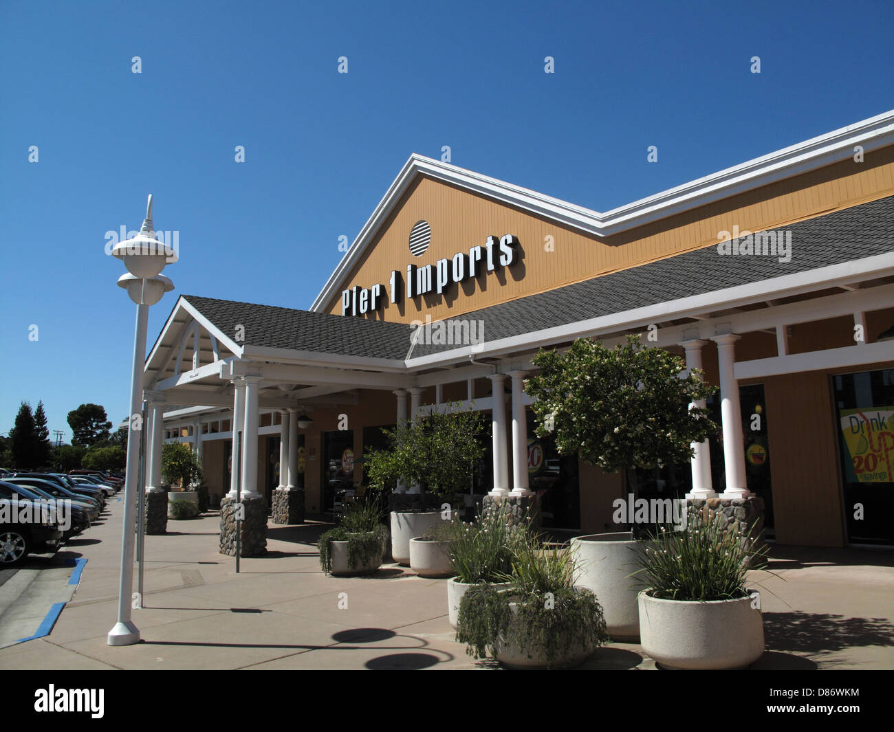 Pier 1 Imports store in Los Gatos, California - Stock Image