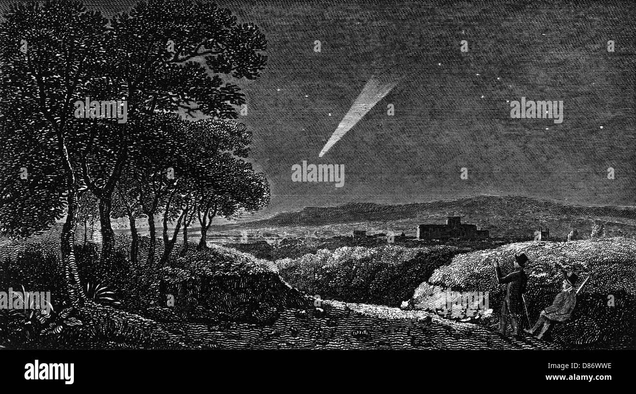 Winchester Comet Of 1811 - Stock Image