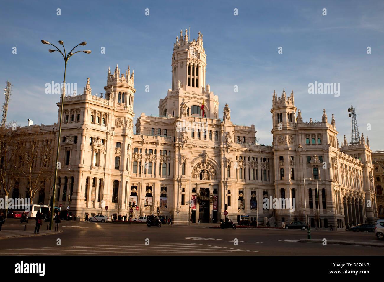 The Former Post Office Palacio De Comunicaciones Or Palacio