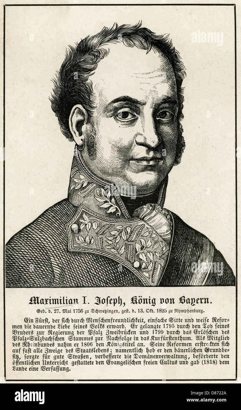 Maximilian I Of Bavaria - Stock Image