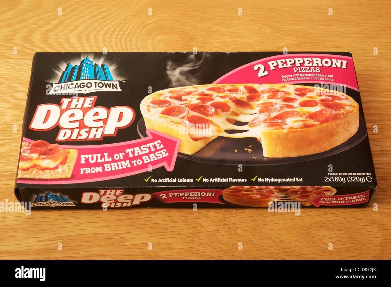Chicago Town Pizzas Stock Photo 56704107 Alamy
